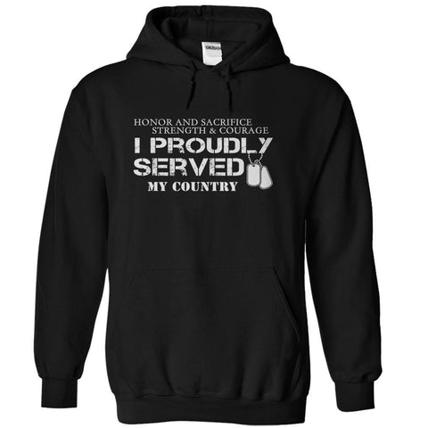 I Proudly Served - Tshirt - topnotchloot  - 4