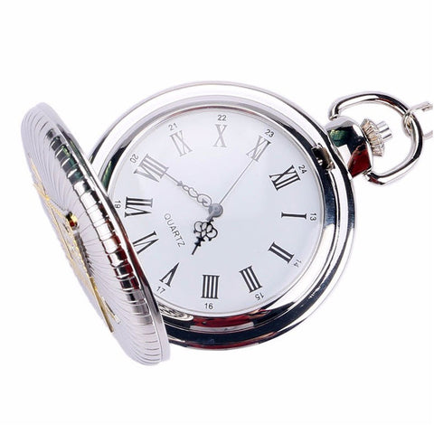 Freemasons Silver Pocket Watch - topnotchloot  - 2