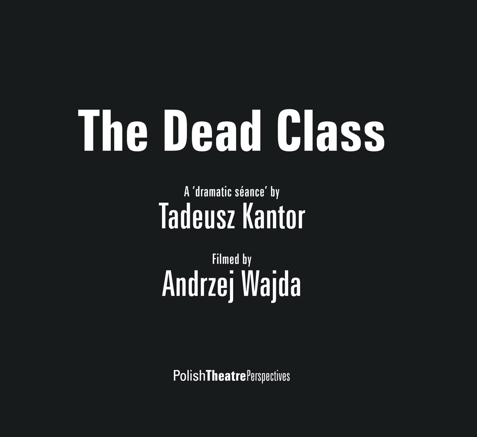 The Dead Class (DVD & booklet)