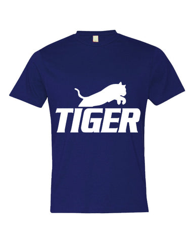 Tiger Underwear Boys Royal Blue T-Shirts