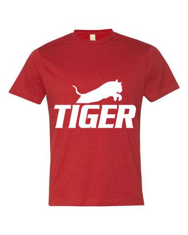 Tiger Underwear Men's Red T-Shirt