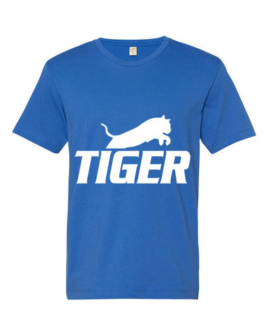 Tiger Underwear Men's Blue T-Shirt