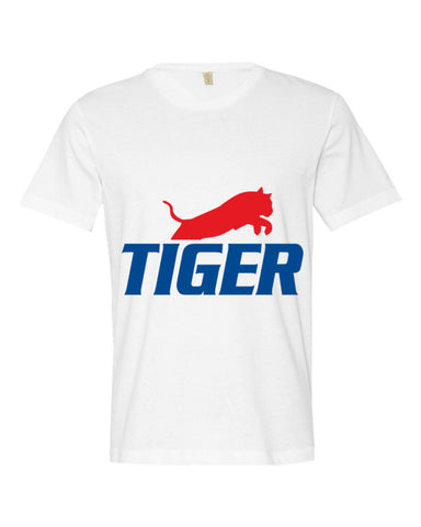 Tiger Underwear Men's White T-Shirt