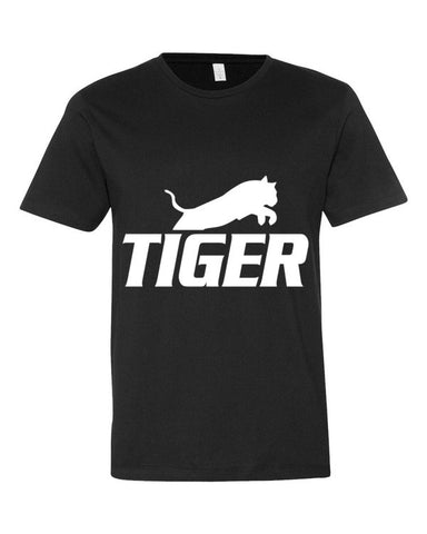 Tiger Underwear Men's Black T-Shirt
