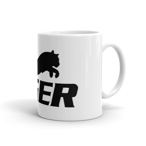 Tiger Black and White Mug