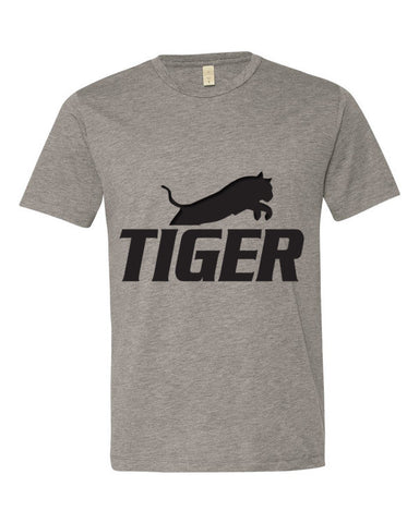 Tiger Underwear Men's Gray T-Shirt