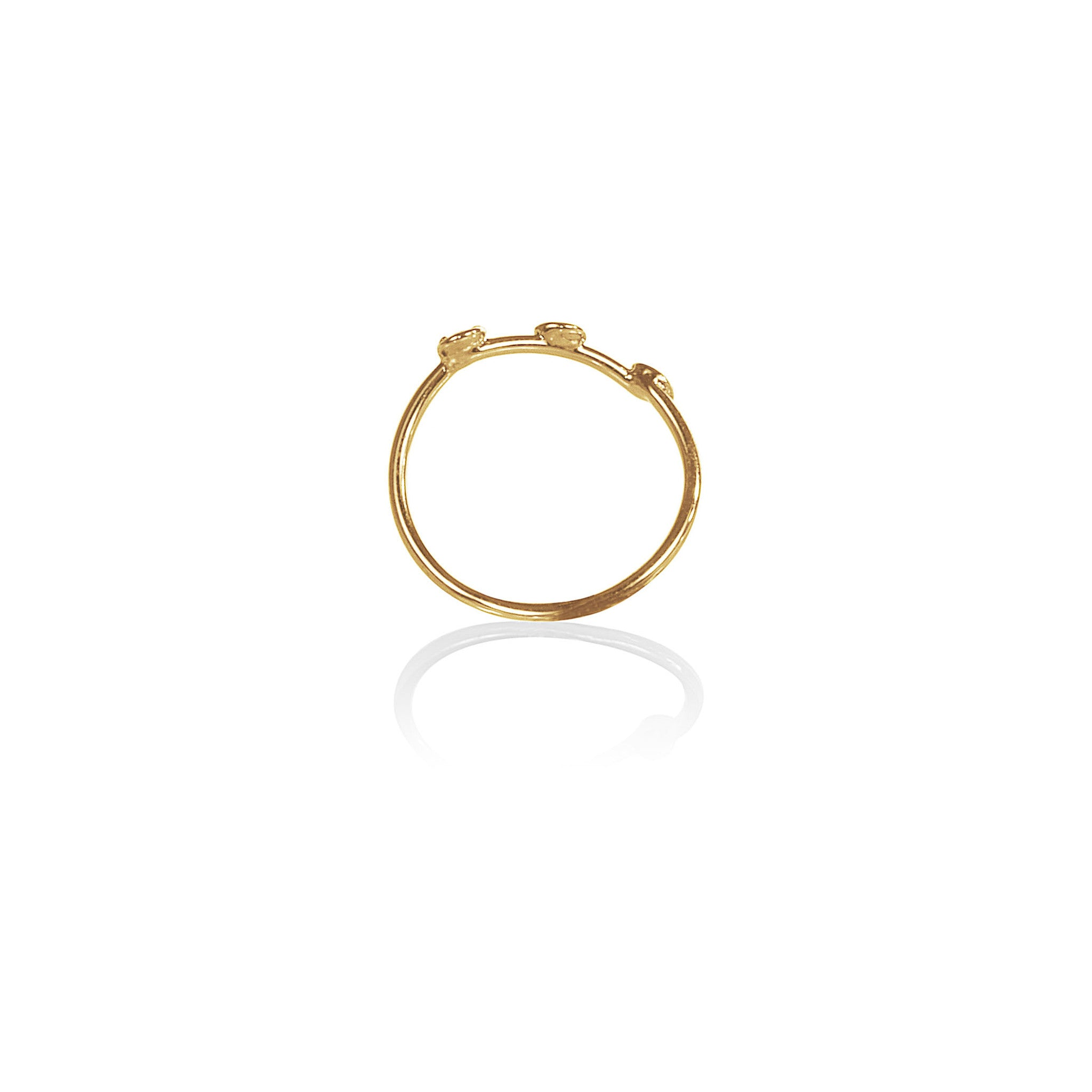 Three Kings Constellation Midi Ring