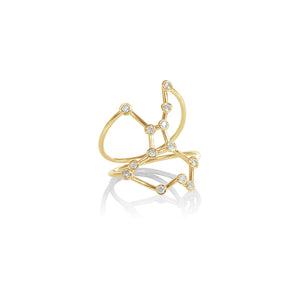 Virgo Constellation Ring