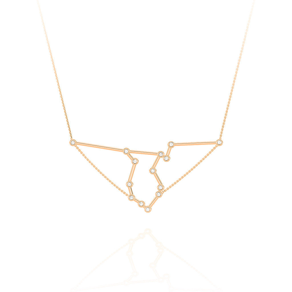Aquarius Constellation Necklace