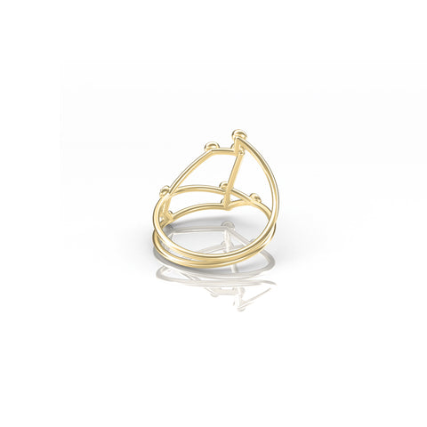 Aries Constellation Ring