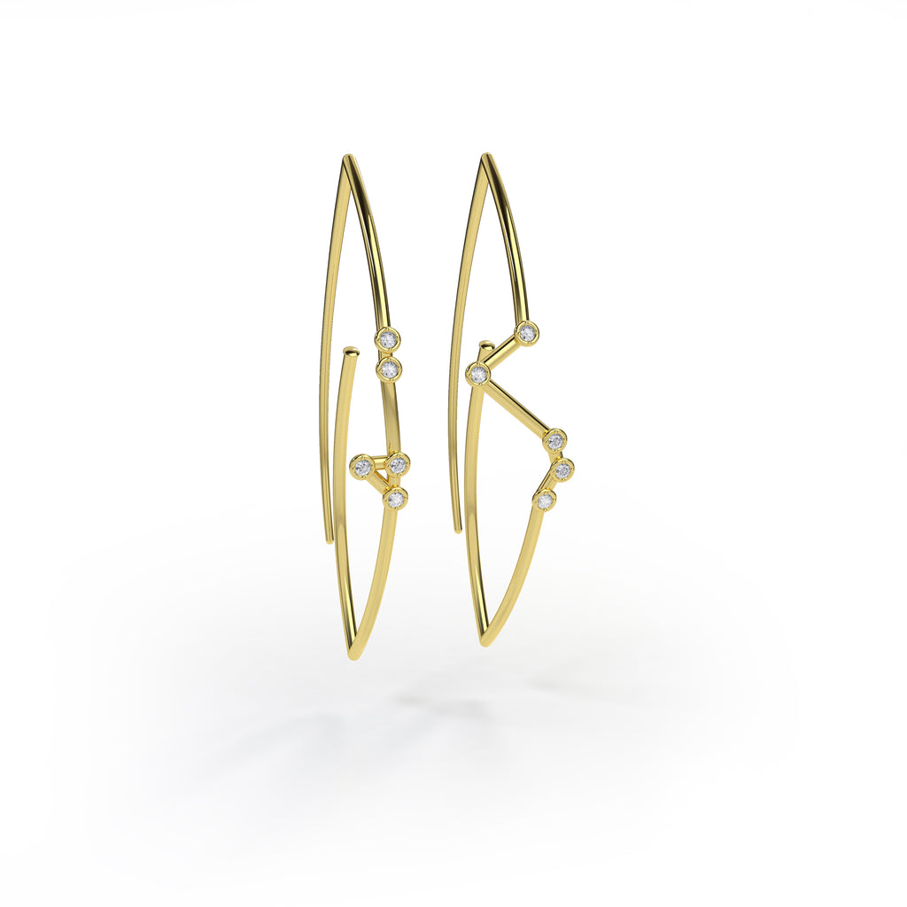 Aries Constellation Earrings