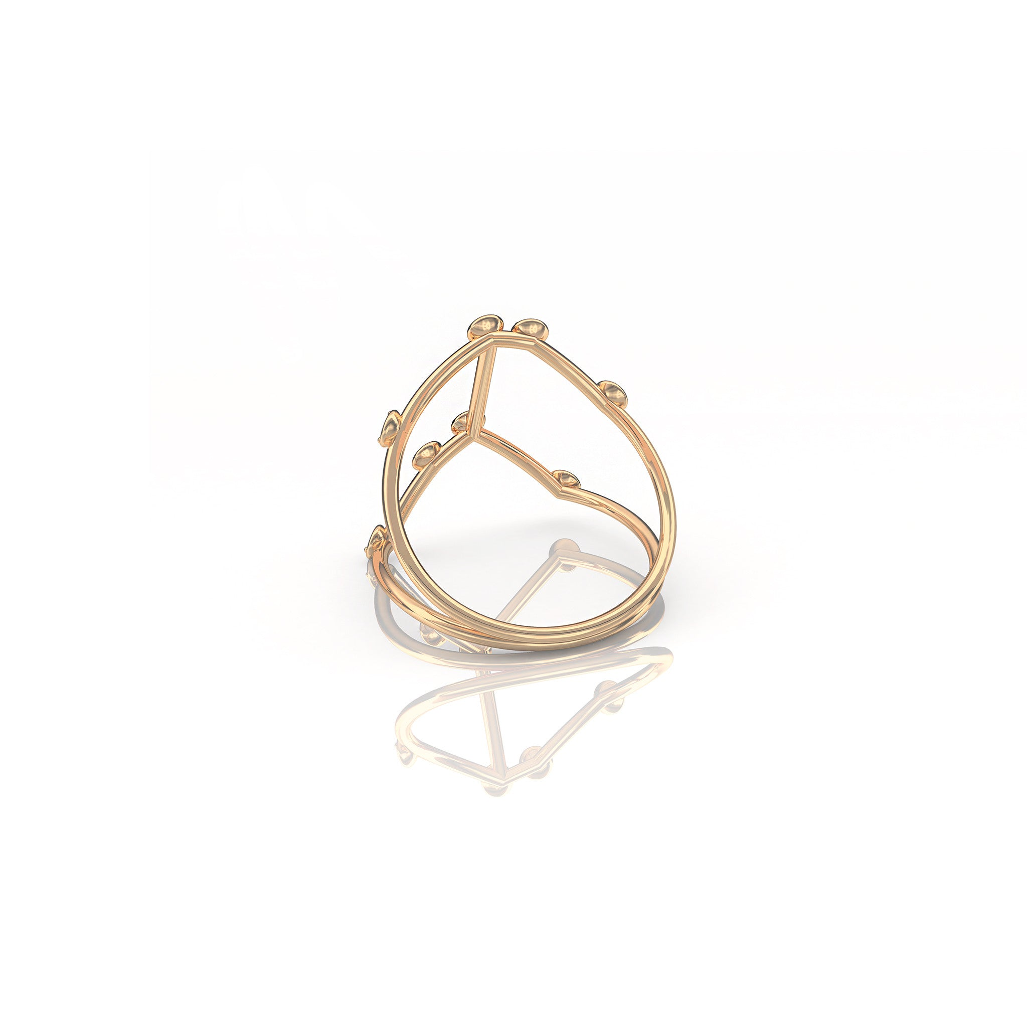 Cancer Constellation Ring