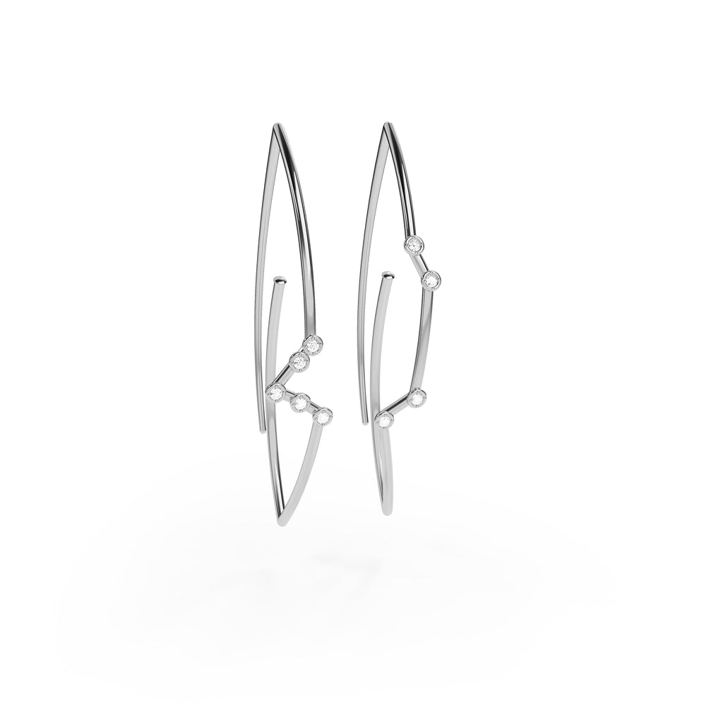 Capricorn Constellation Earrings