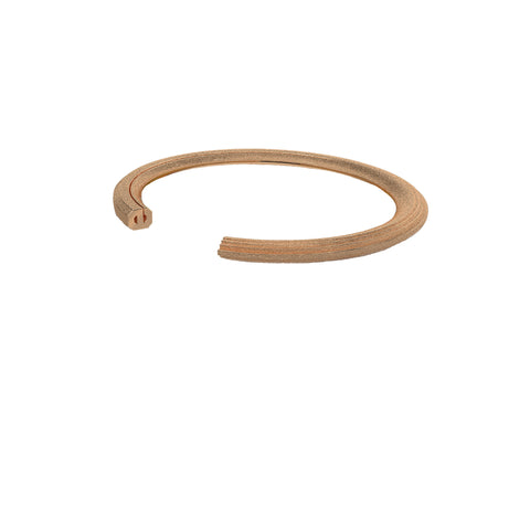 Rock Cuff 18k Rose Gold Vermeil