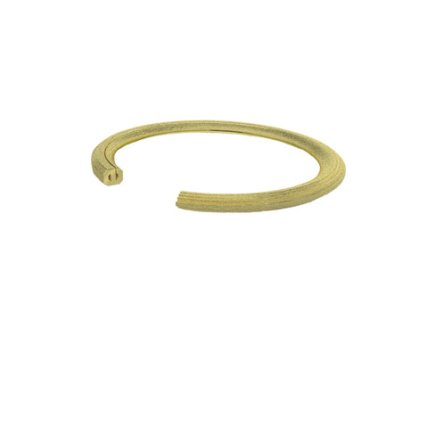 Rock Cuff 18k Yellow Gold Vermeil