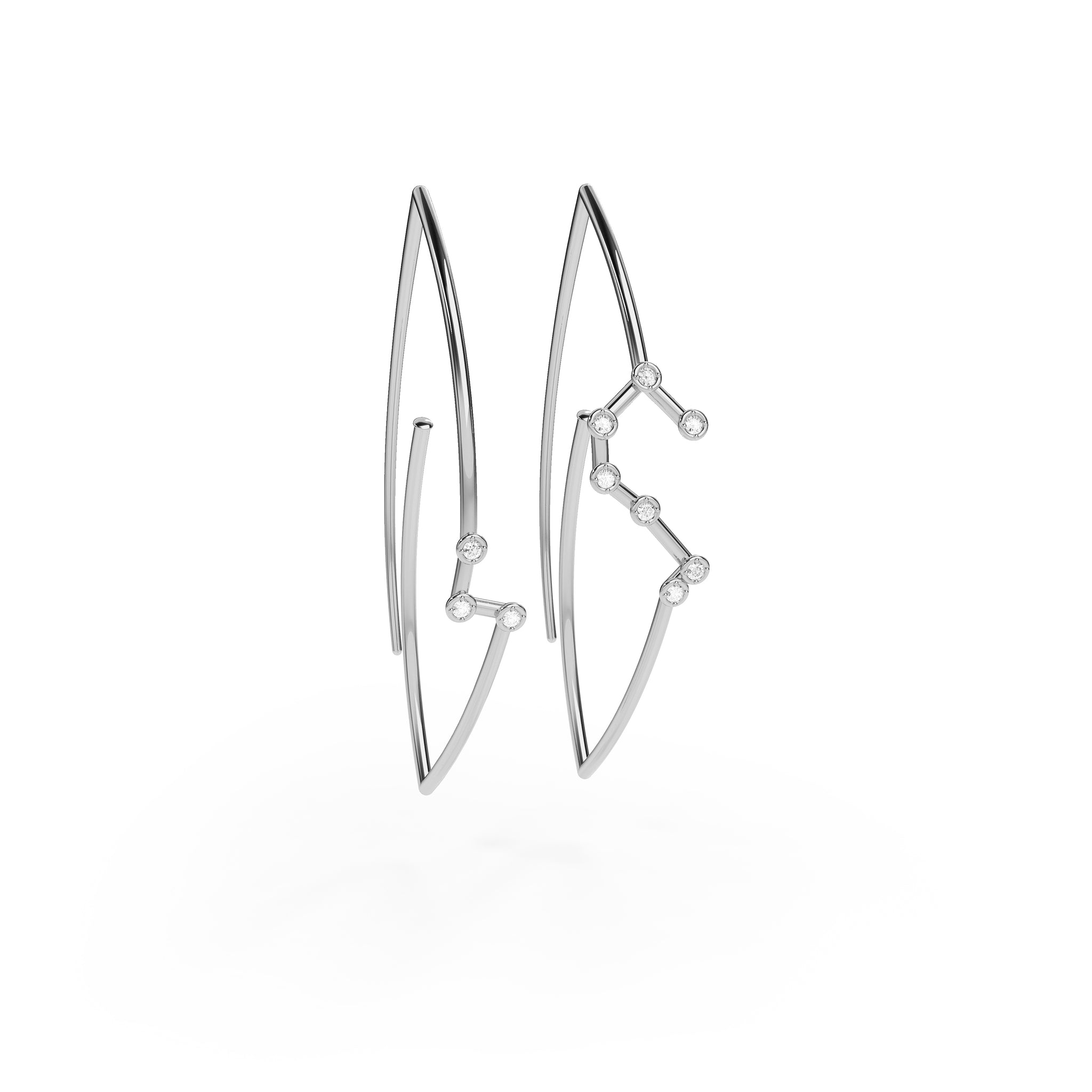 Leo Constellation Earrings