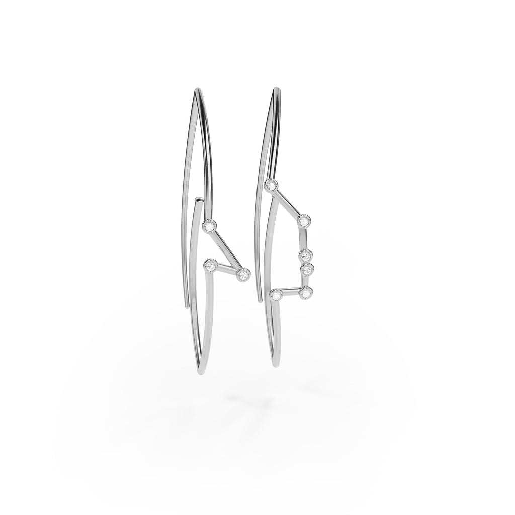 Taurus Constellation Earrings