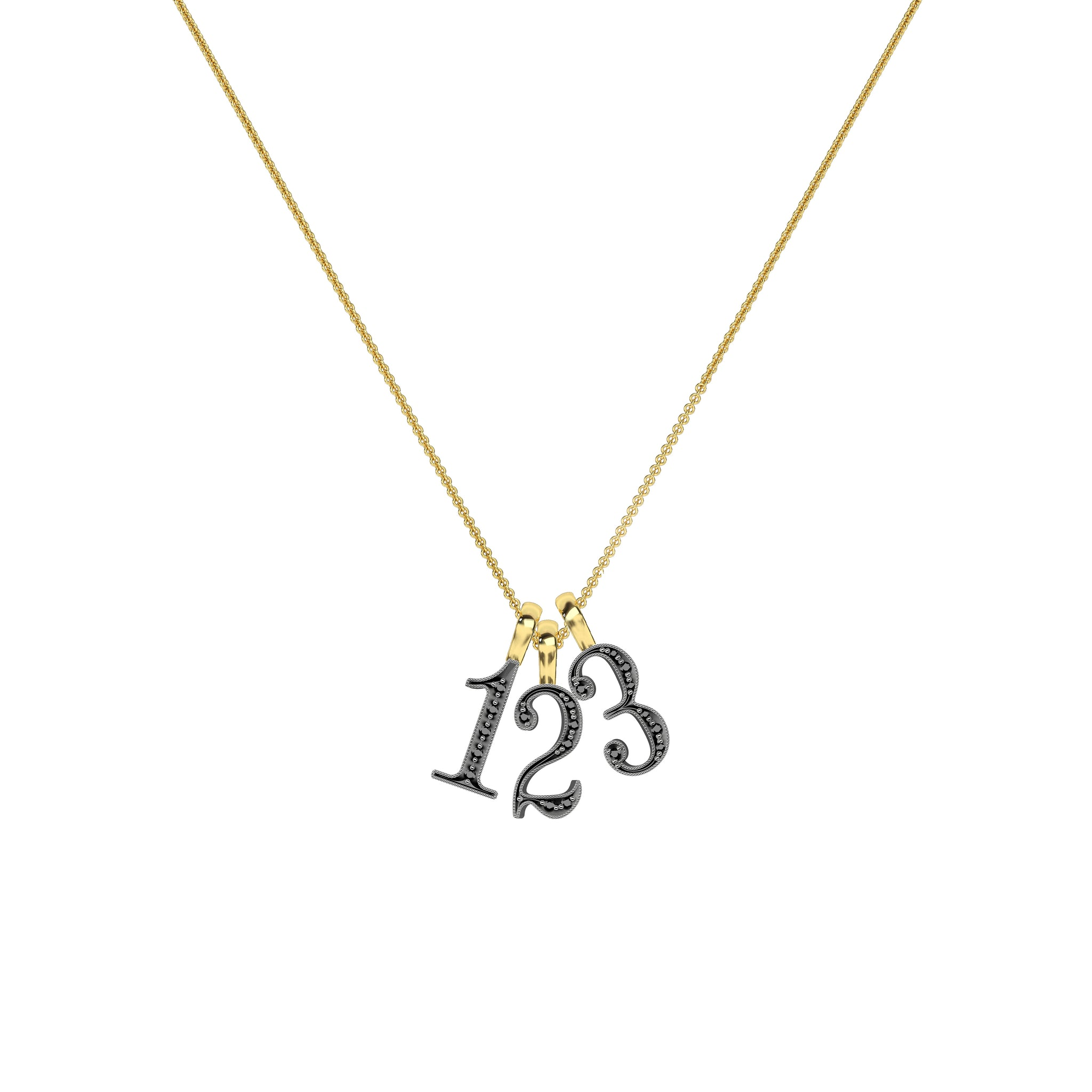 Lucky Number 5 Necklace