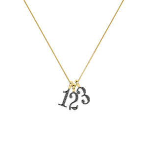 Lucky Number 4 Necklace