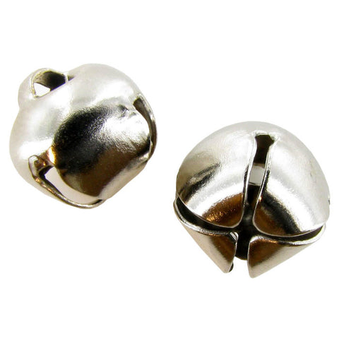 9mm Silver Jingle Bells Super Value Pack