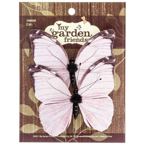 Small Light Pink Butterflies