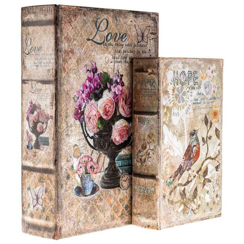 Birds & Flowers Lined Book Box Set