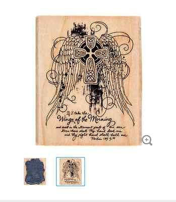Wings of the Morning Rubber Stamp