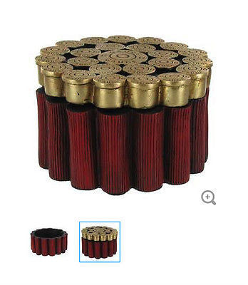 12-Gauge Shotgun Shells Resin Trinket Box