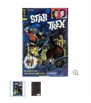 Star Trek Hijacked Cover Embossed Tin Sign