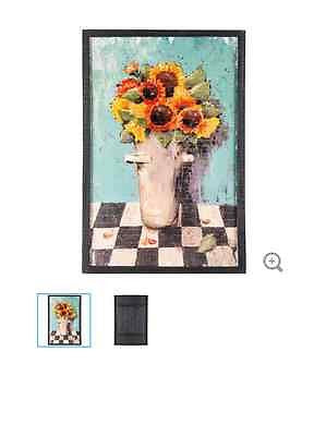Sunflowers in a Can Wooden Wall Art