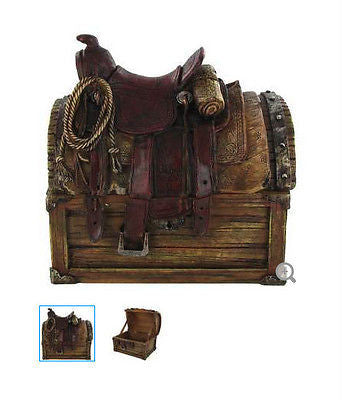 Saddle Box Cowboy Western