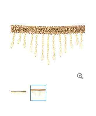 Gold Beaded Gimp Trim