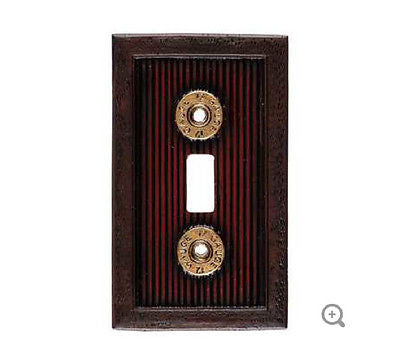 Shotgun Shell Single Switch Plate