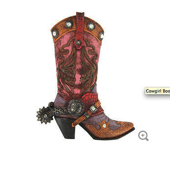 Cowgirl Boot Wall Decoration