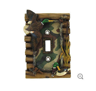 Hunting Single Switch Plate