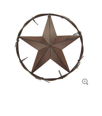 Metal Star in Circle