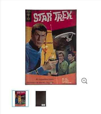 Star Trek Expedition Comic Cover Embossed Tin Sign