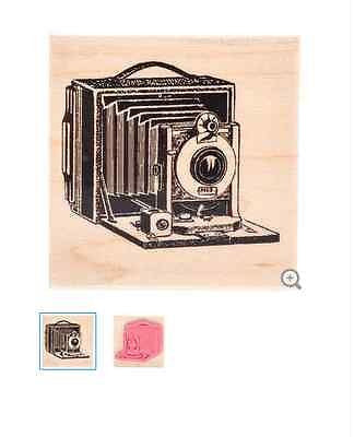 Vintage Camera Rubber Stamp