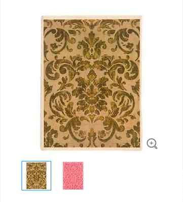 Tapestry Background Rubber Stamp