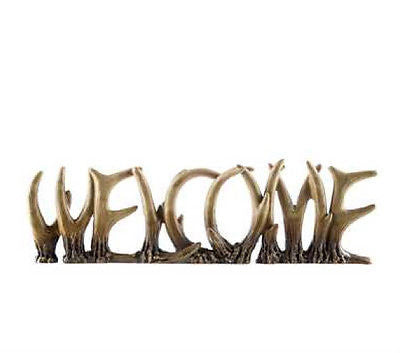 Welcome Antler Word