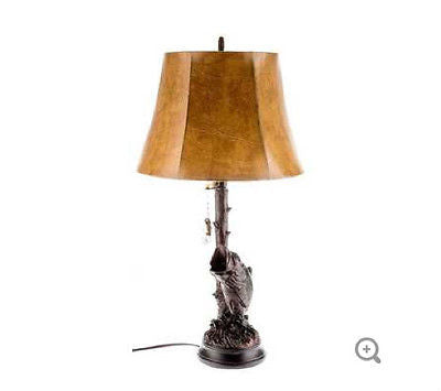 Large Mouth Bass Table Lamp