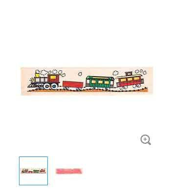 Choo-Choo Rubber Stamp
