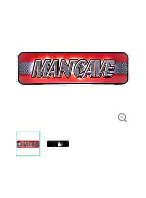 Man Cave Sign with LED Lights