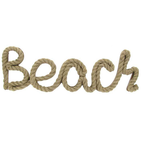 Beach Rope Word