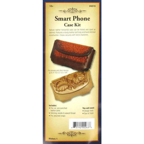 Natural Leather Horizontal Smart Phone Case Kit