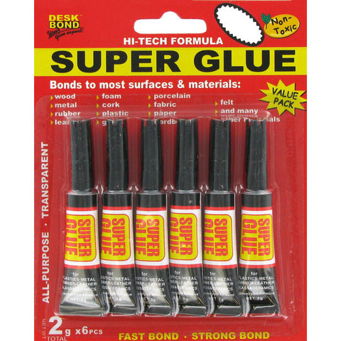 6-Pack Super Glue