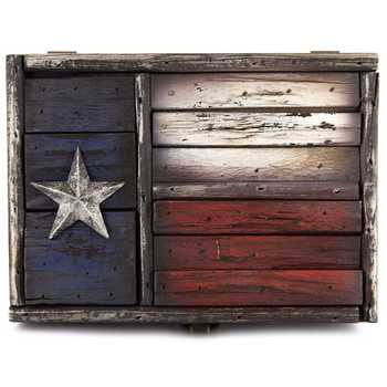 American Star Western Wood Box