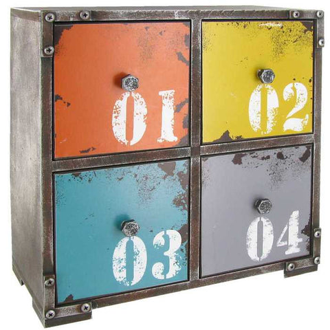 4-Drawer Number Organizer