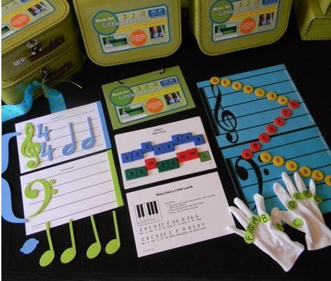 Beginner Learn Piano Student Music Kit in a Box for Students and Teachers