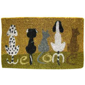 Dog Welcome Door Mat